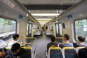 Most comfortable train