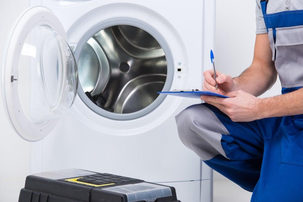 repairman washing machine