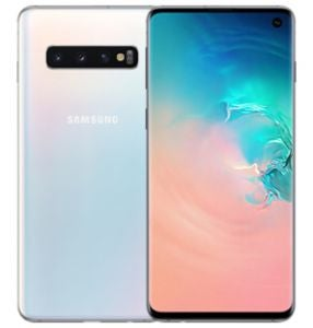 Samsung Galaxy S10 Mobile Phone In White