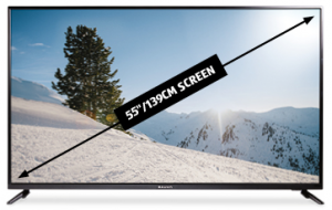 4K Ultra HD Smart TV with HDR