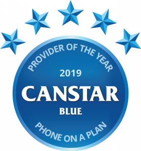 Phone on a plan provider of the year