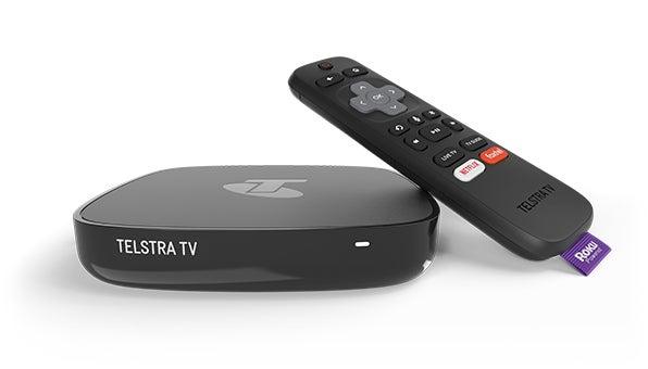 A Telstra TV box