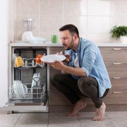 dishwasher not drying