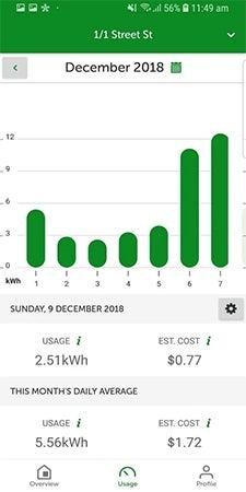 Android EnergyAustralia App