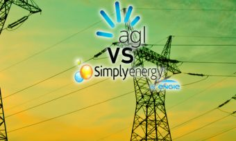 AGL and Simply Energy Compared