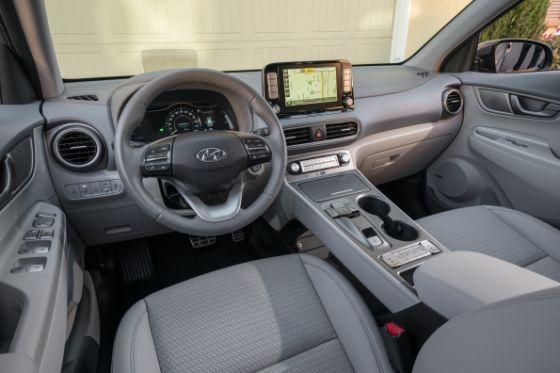 Charging Hyundai Kona Electric