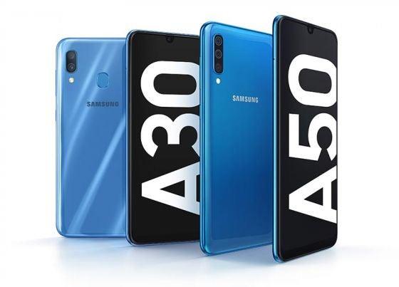 Samsung Galaxy A30 And A50