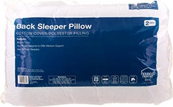 Big W House & Home Back Sleeper Pillow 2-Pack