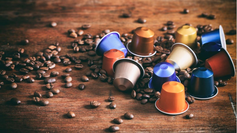Recycle Coffee Capsules