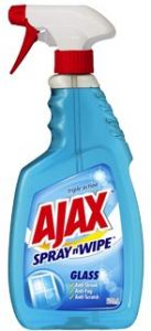 ajax spray and wipe
