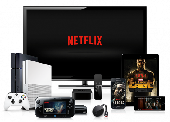 Group of devices that you can use to stream Netflix