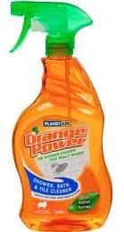 Orange Power bathroom cleaner
