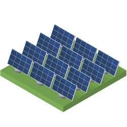 Solar Farms Power Grid