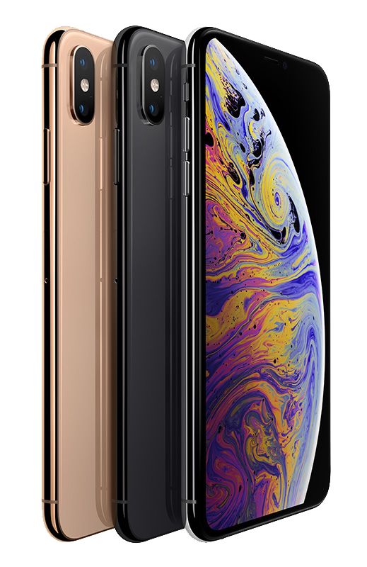 Apple iPhone XS In Three Colours