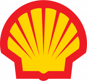 Shell petrol service station compared