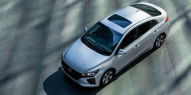 Charging Hyundai Ioniq Electric