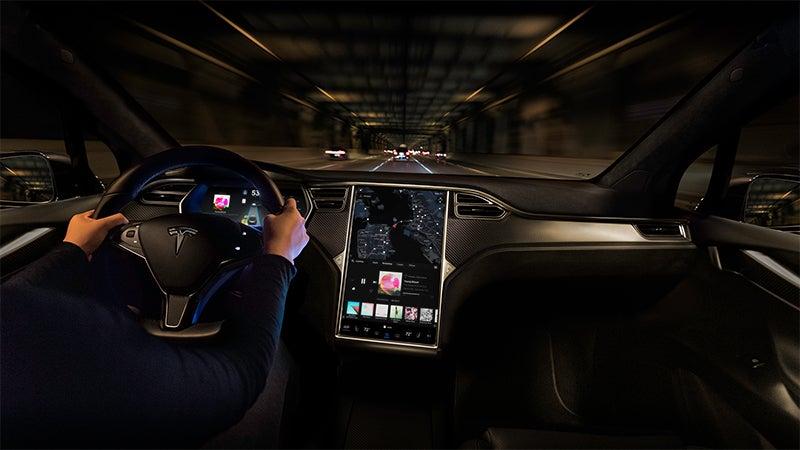 Tesla Model X Panel