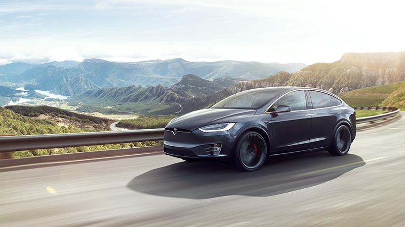 Charging Tesla Model X