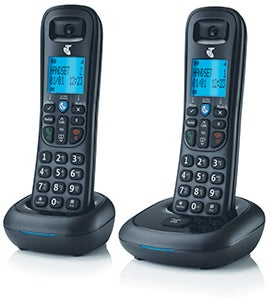Telstra Easy Control 102 Twin Cordless Phone