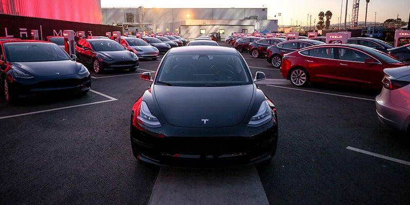 Tesla Model 3 Ratings