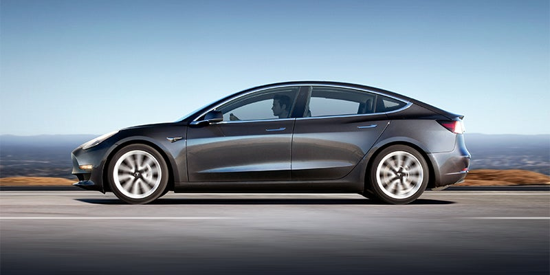 Tesla Model 3 Specs