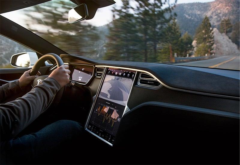 Tesla Model S Interior & Panel