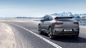 I-Pace Jaguar Driving