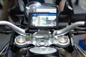 GPS on Motorbike