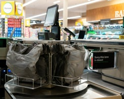 Supermarket plastic ban