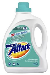 Biozet Attack laundry liquid review