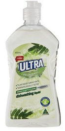 Coles Ultra dishwashing liquid