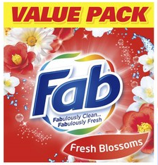 Fab laundry powder