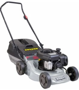 masport lawnmower black
