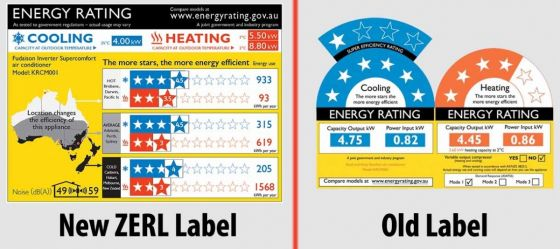 old vs new energy ratings