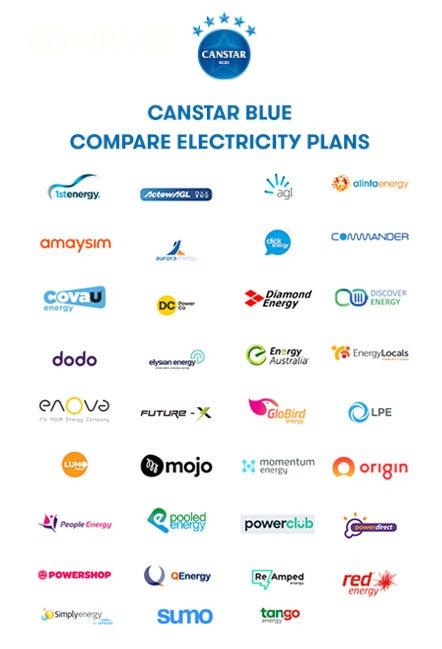 electrical plan australia electricity comparison 39 energy providers canstar blue  electricity comparison 39 energy
