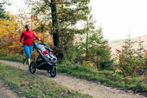 What should I look for in a pram or stroller?