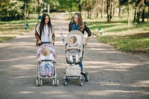 What's the difference between prams & strollers?