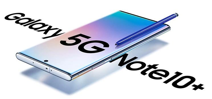 Galaxy Note 10+ 5G Plans