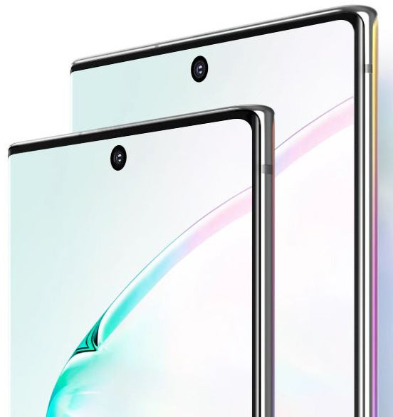 Galaxy Note 10 and 10+