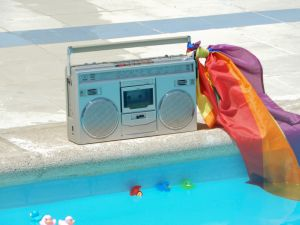 Pool speakers