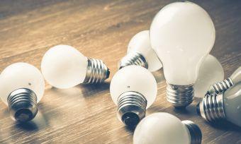 Light bulbs big and small
