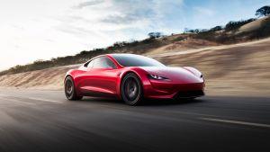 Tesla Roadster supercar