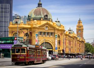 conic Flinders Street Station