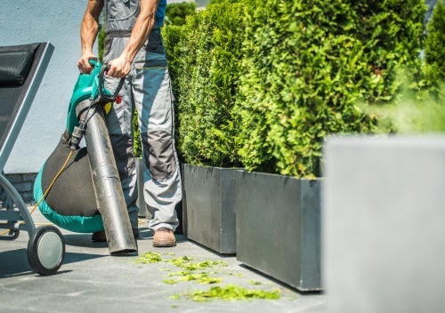 What is a blower vacuum leaf blower?