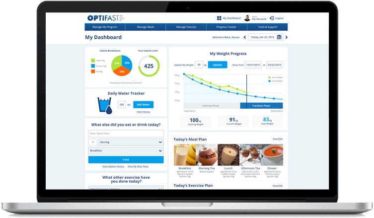 Who is allowed to use the optifast weight loss program?