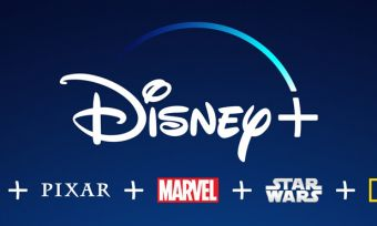 Disney Plus logo with Disney asset logos