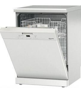 Open Miele Dishwasher