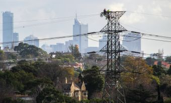 Melbourne power lines