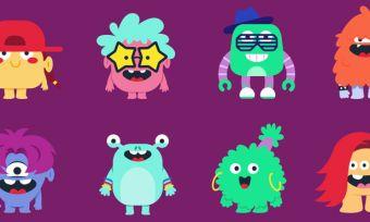 Monster avatars from Spotify Kids app