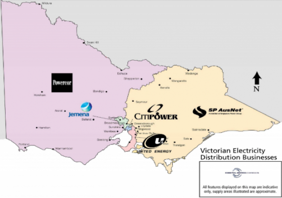 VIC_Electricity-Map